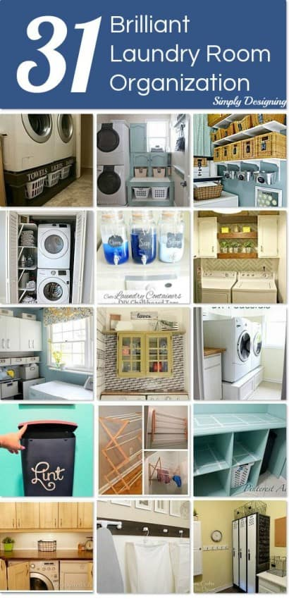 31 laundry room organization ideas - Laundry room organizing ideas ...