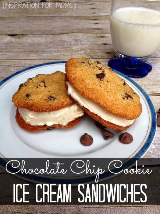 Gluten Free Chocolate Chip Cookie Ice Cream Sandwiches / Inspiration ...
