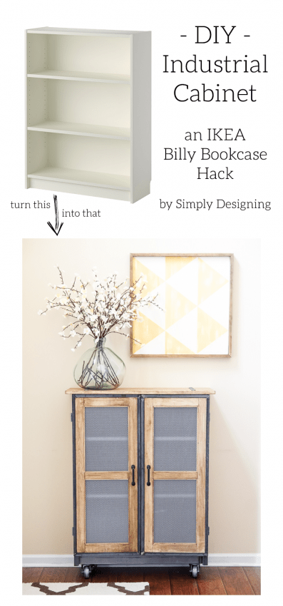 DIY Industrial Cabinet by Simply Designing