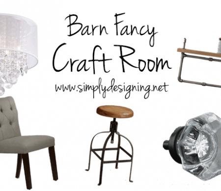 Industrial Craft Room