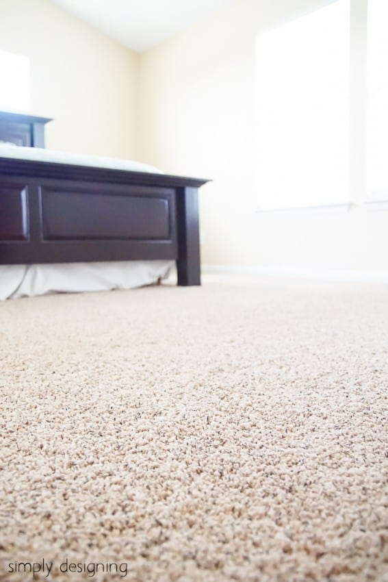 New Carpet - before & after