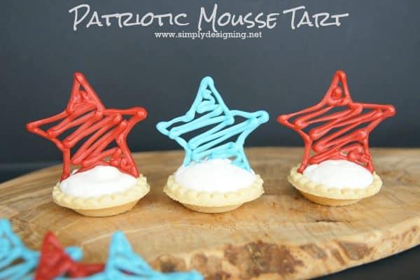 Patriotic Mousse Tarts