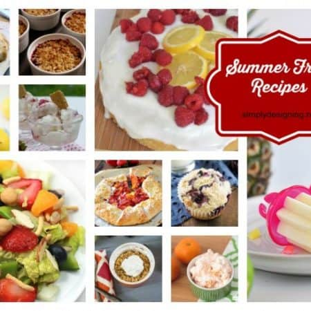 summer fruit recipes featured image
