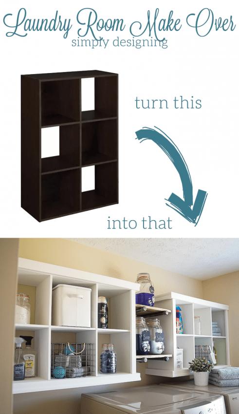 Cubby Shelf Hack