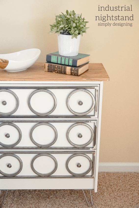 DIY Industrial Nightstand