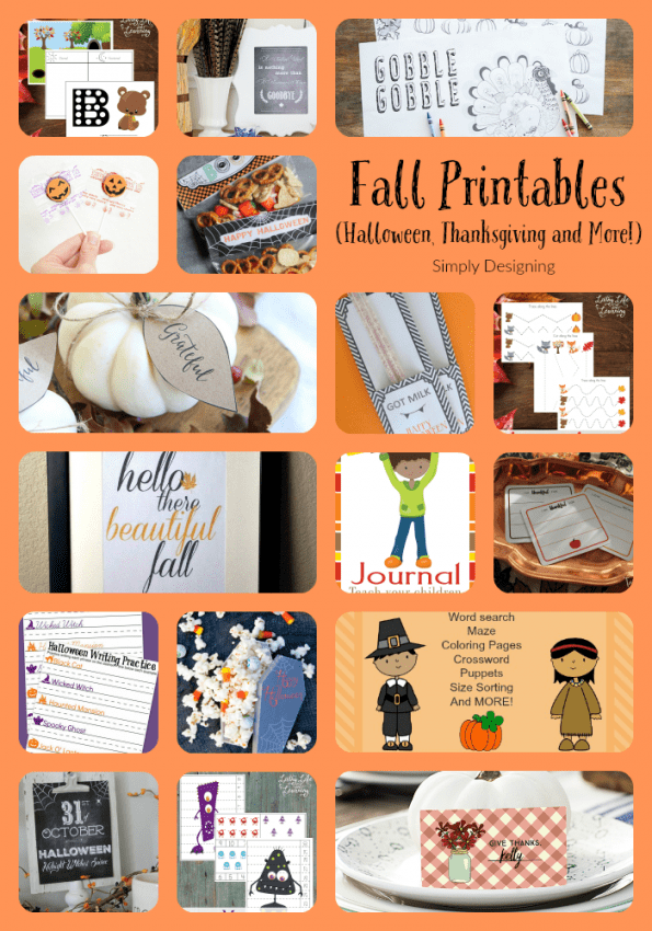 Fall Printables Round Up Pinnable Use