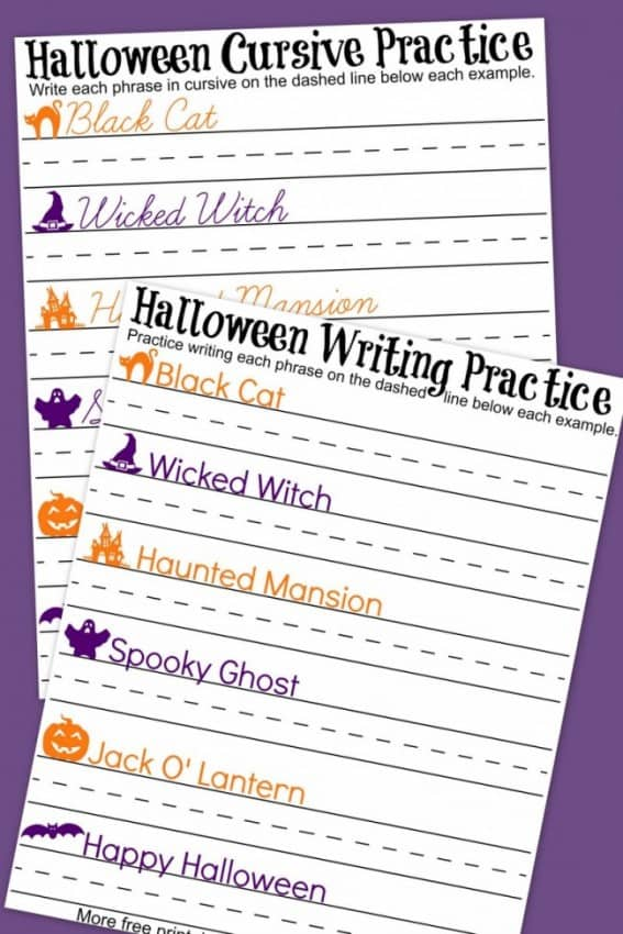 Fall Printables - Halloween, Thanksgiving and More!