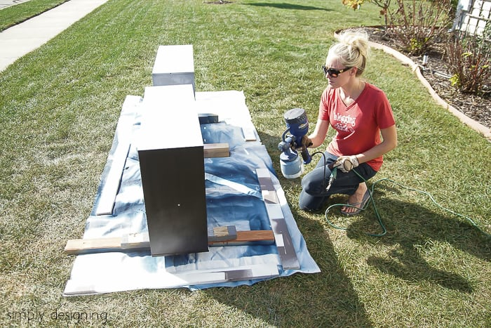 Spray Laminate Furniture