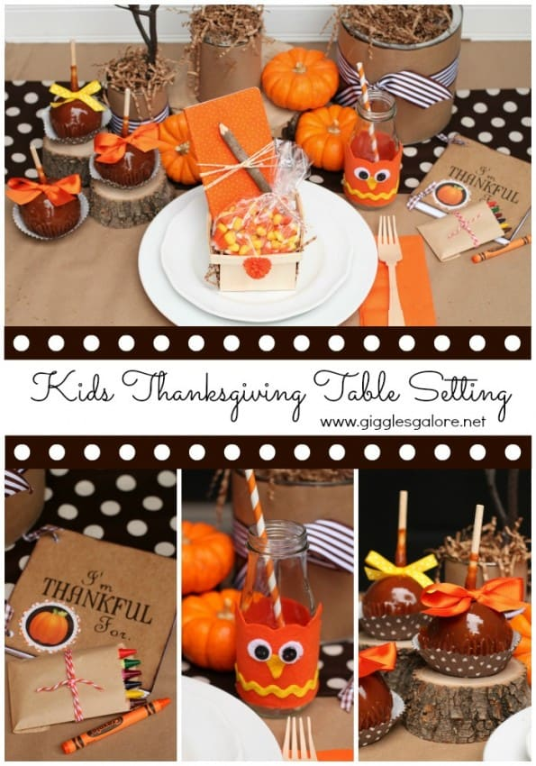 Easy thanksgiving table decor for How to set a round table for thanksgiving