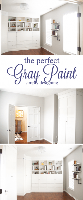 choosing and painting the perfect gray paint can completely transform your home