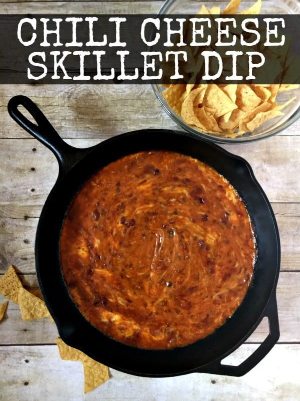 Chili Cheese Skillet Dip / Inspiration for Moms