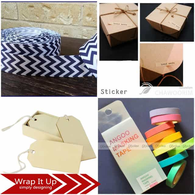 Wrap It Up: Fun and affordable ways to wrap your holiday gifts up! #giftwraping #gifts #followitfindit #ad