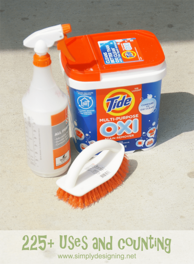 Does Oxi Clean Remove Paint