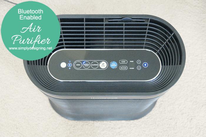 BlueTooth Enabled Air Purifier