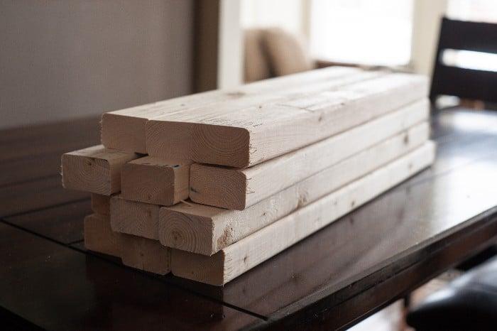 Wood for DIY Spice Rack
