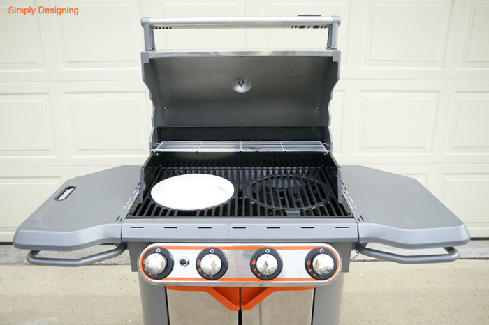 Grill with Pizza Insert