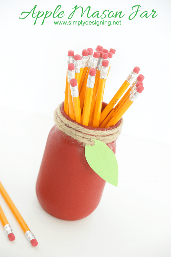 Mason Jar Teacher Gift