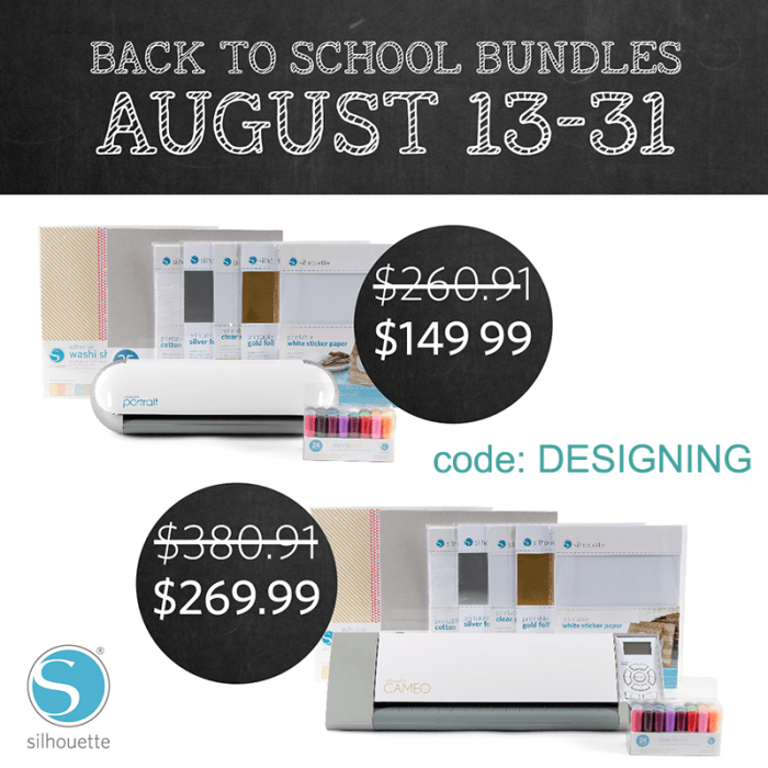 Silhouette Promotion August 2014