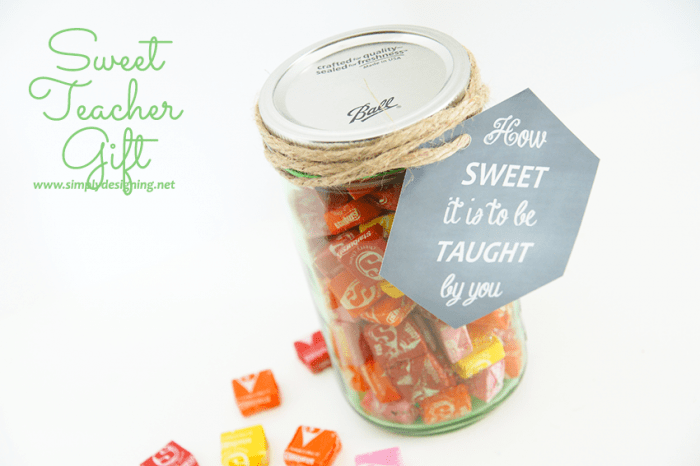Sweet Teacher Gift and Printable