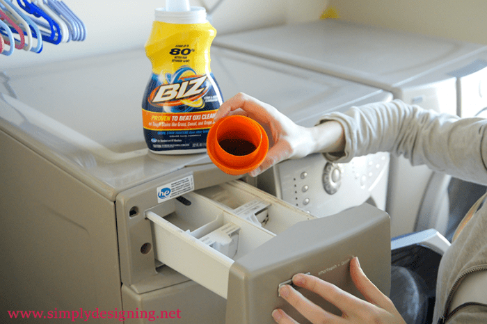 Add Biz to Washing Machine