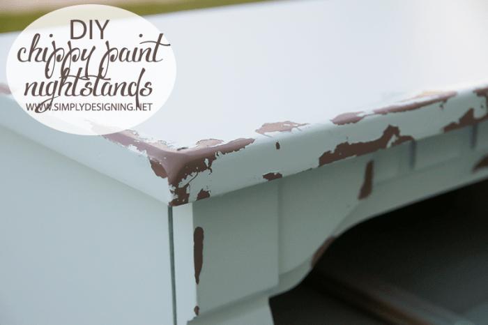 Chippy Paint | #diy #paint #furniture