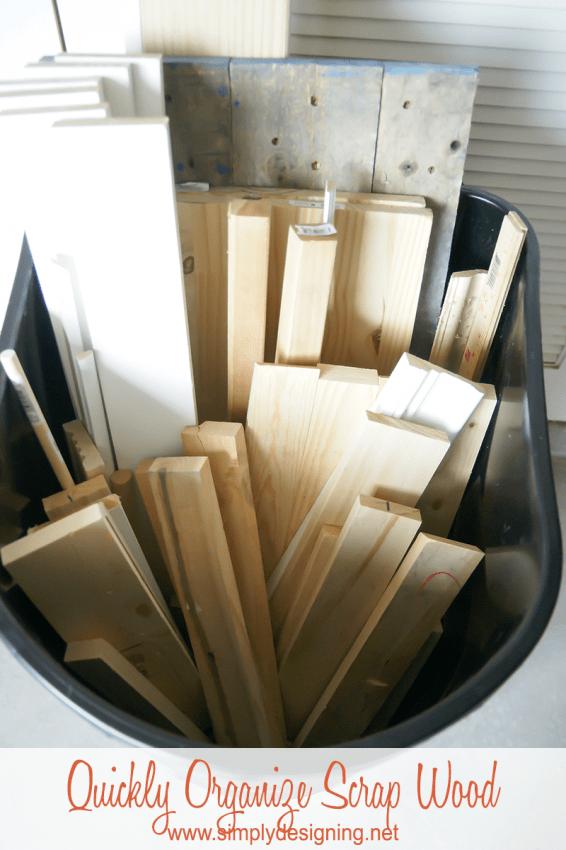 Organize Scrap Wood