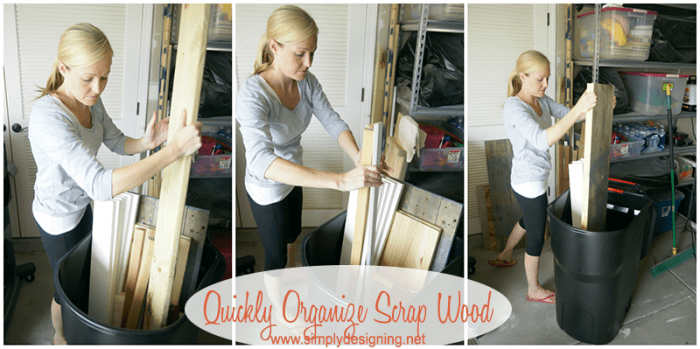 Organize Wood