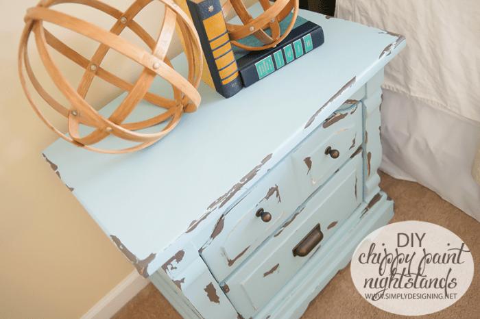 Painted Nightstand | #diy #paint #furniture