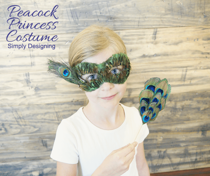 Peacock Princess #costume #princess #peacock #halloween