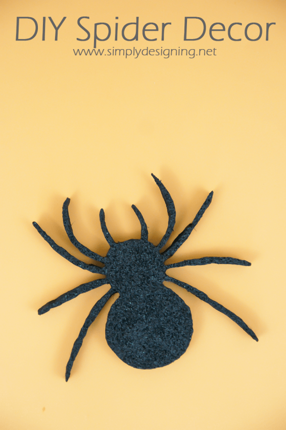 Spider Decor | #halloween #halloweendecor #crafts #spider