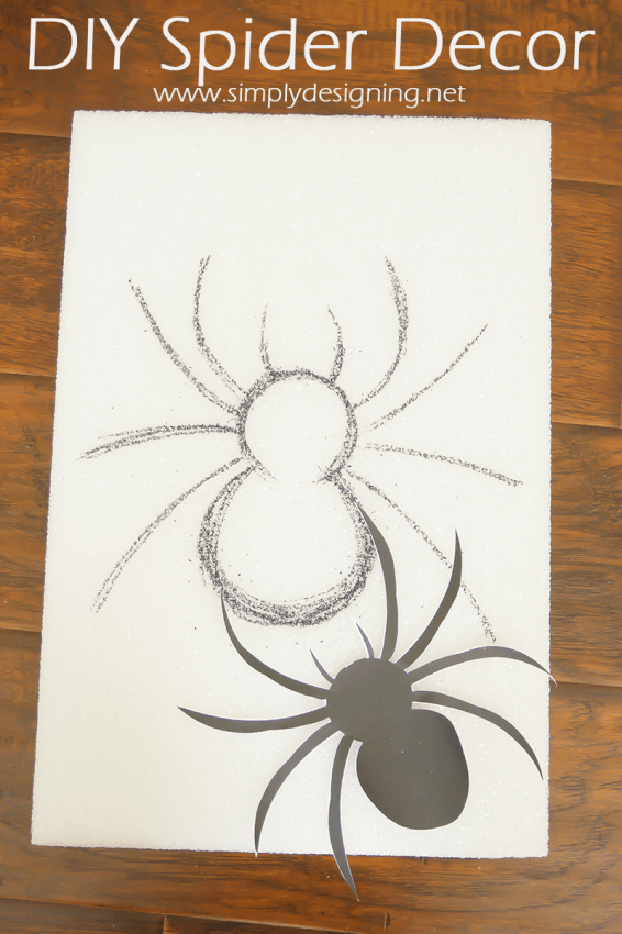 Spider Image | #halloween #halloweendecor #crafts #spider