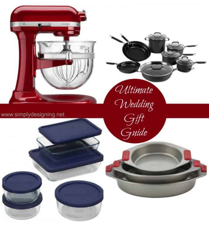 Ultimate Wedding Gift Guide Collage | #wedding #giftguide