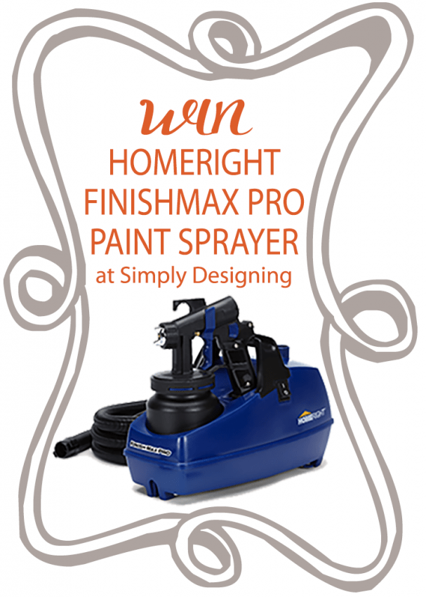 Win a HomeRight FinishMax Pro #giveaway #diy