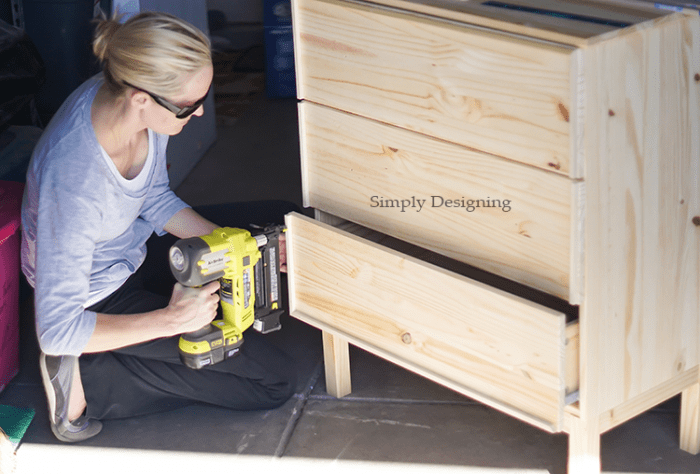 Add Molding to IKEA Tarva Dresser