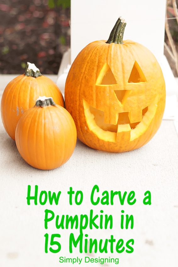 Carve a Pumpkin Quickly  #Halloween #pumpkin #pumpkincarving #jackolantern #crafts
