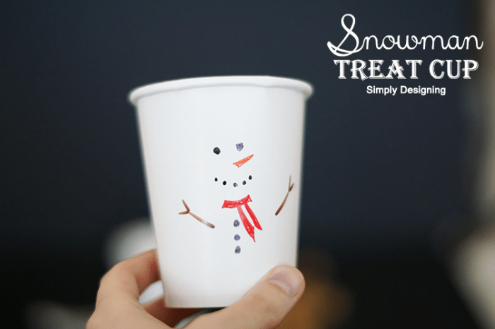 Christmas Treat Cup