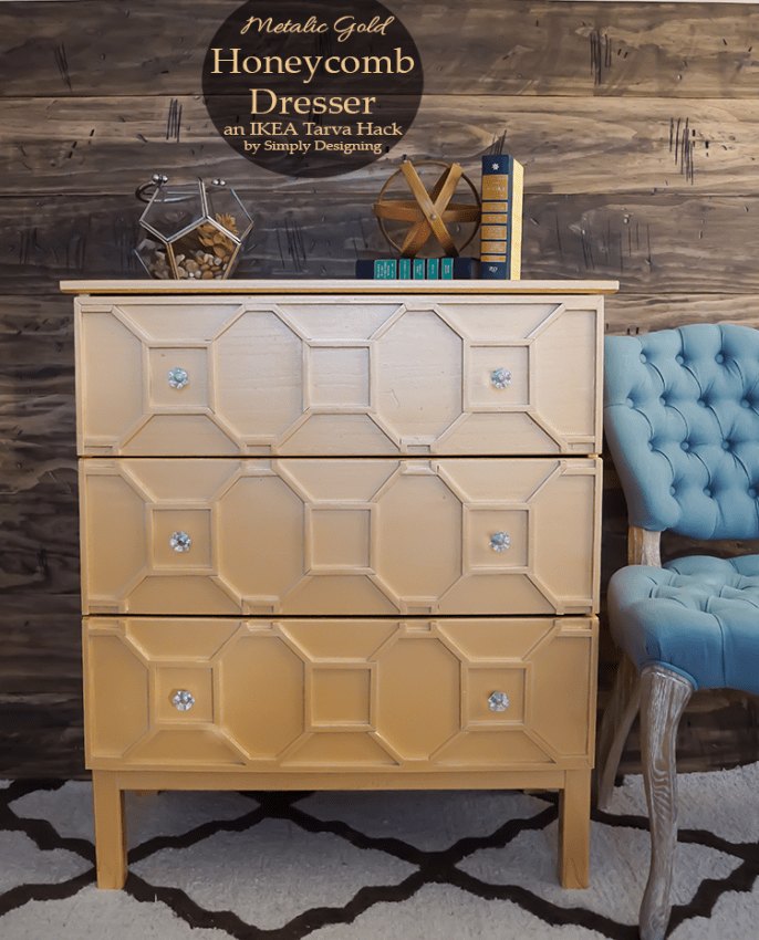 Gold Dresser