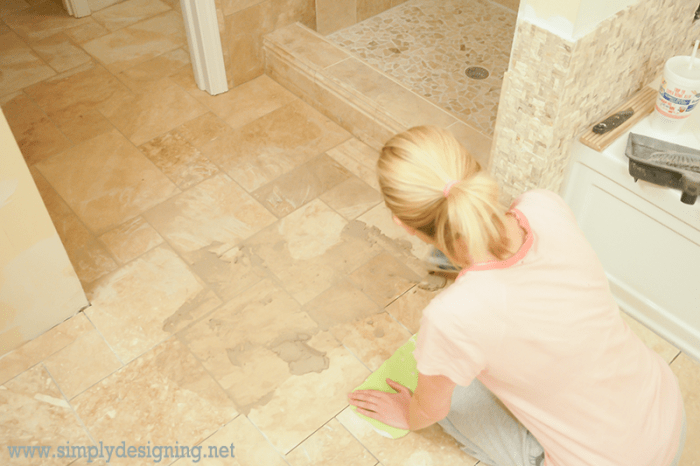 Grout Floors