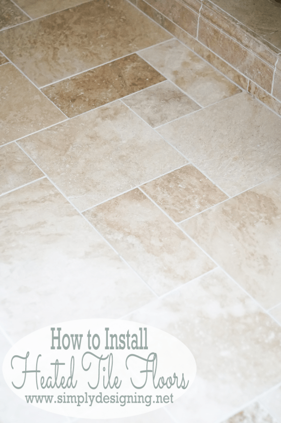 Heated Tile Floors