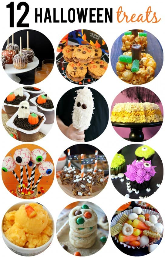 12 Halloween Party Treats