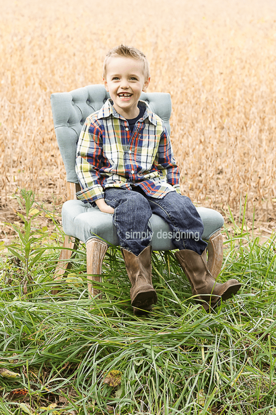 Photo of Boy on Chair