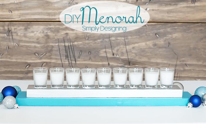 DIY Menorah