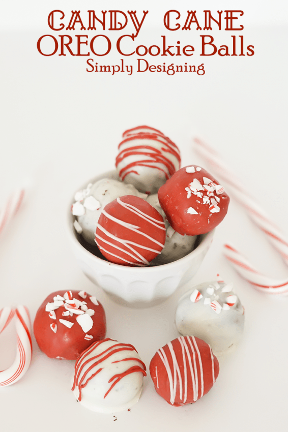 Holiday OREO Cookie Balls