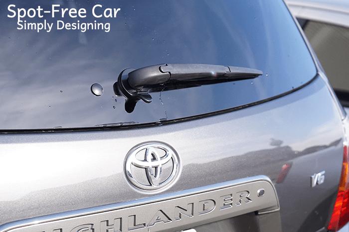Spot Free Car