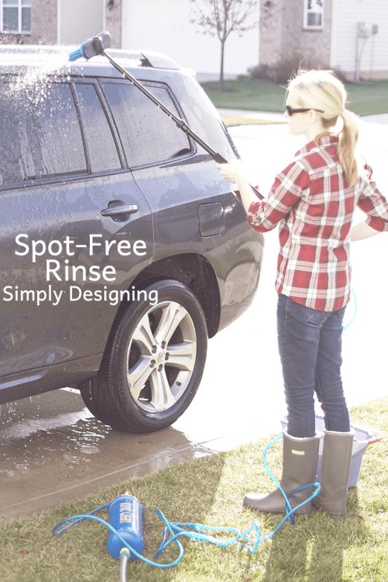 Spot Free Rinse