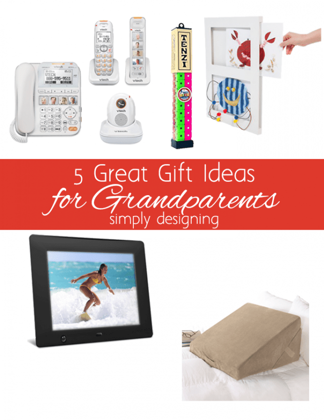 5 Great Gifts for Grandparents