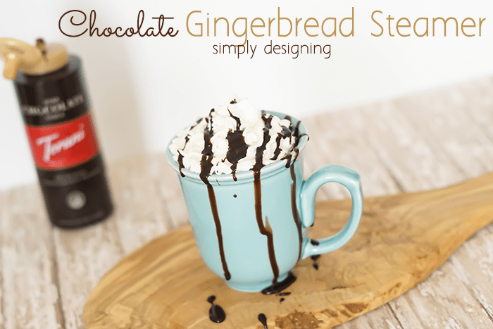 Chocolate Gingerbread Steamer Recipe