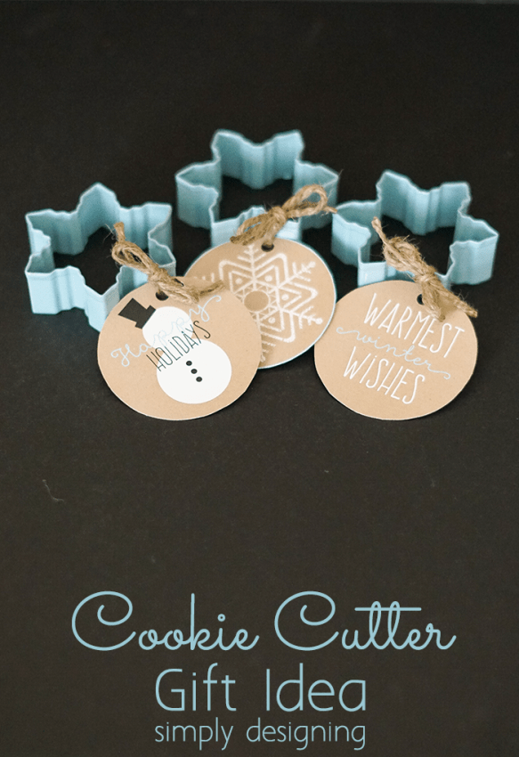 Cookie Cutter Gift Idea and Printable