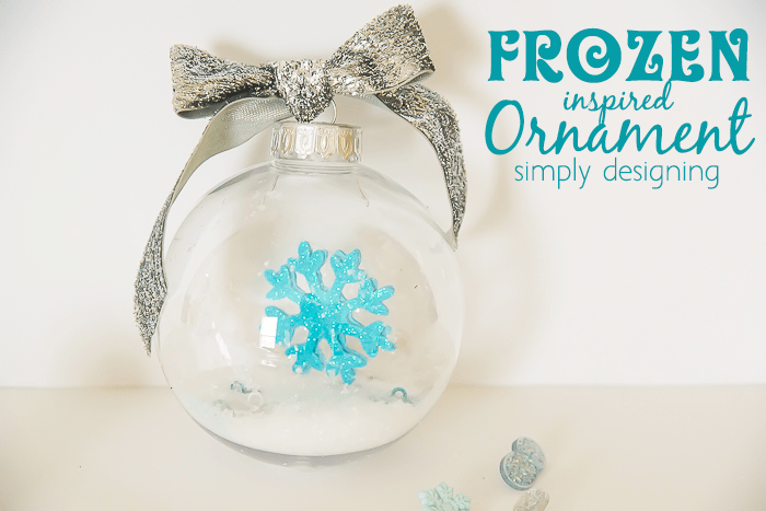 Elsa Inspired FROZEN Ornament
