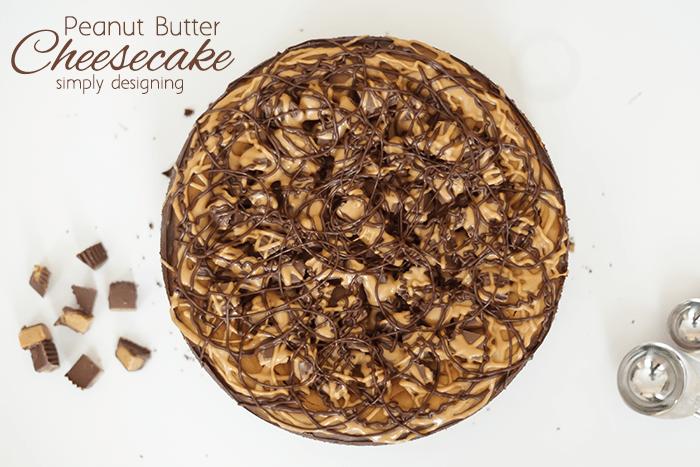 Homemade Peanut Butter Cheesecake